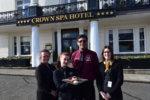 Crown Spa Hotel and Scarborough TEC celebrate National Apprenticeship Week