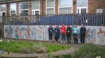 Scarborough TEC and Thomas Hinderwell students design outdoor mural