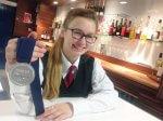 Chloe Robinson takes silver medal at WorldSkills UK final