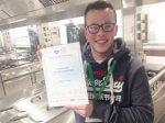 Connor wins 2nd Place in Teflon Diamond Standard Awards