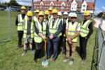 Ground-breaking takes place at new Construction and Engineering Centre