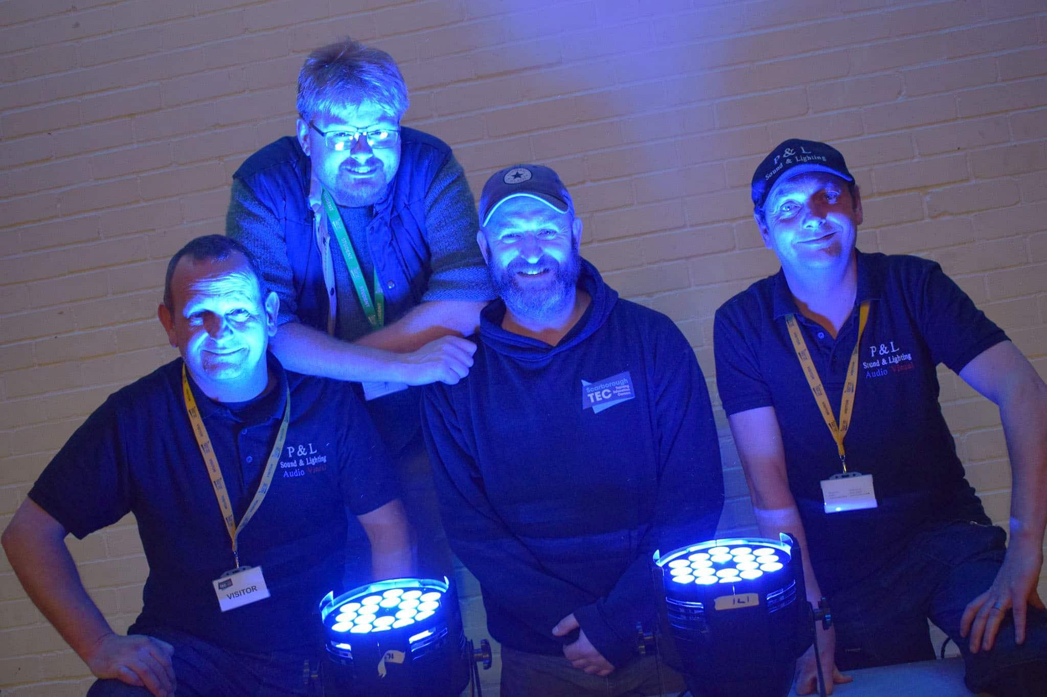 P & L Sound & Lighting offer Electrical students illuminating workshop