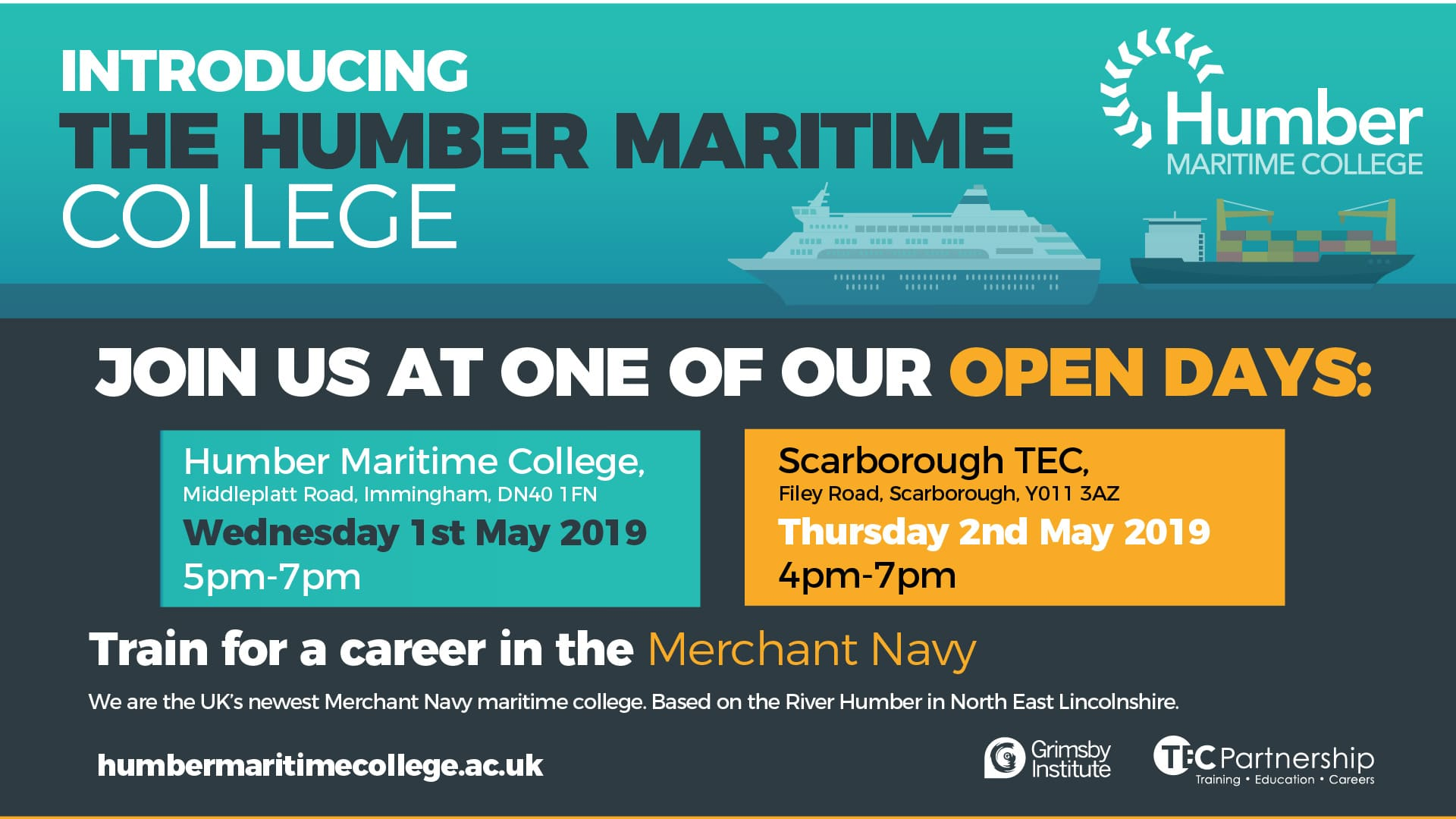 Humber Maritime College launched by MODAL Training | Scarborough TEC