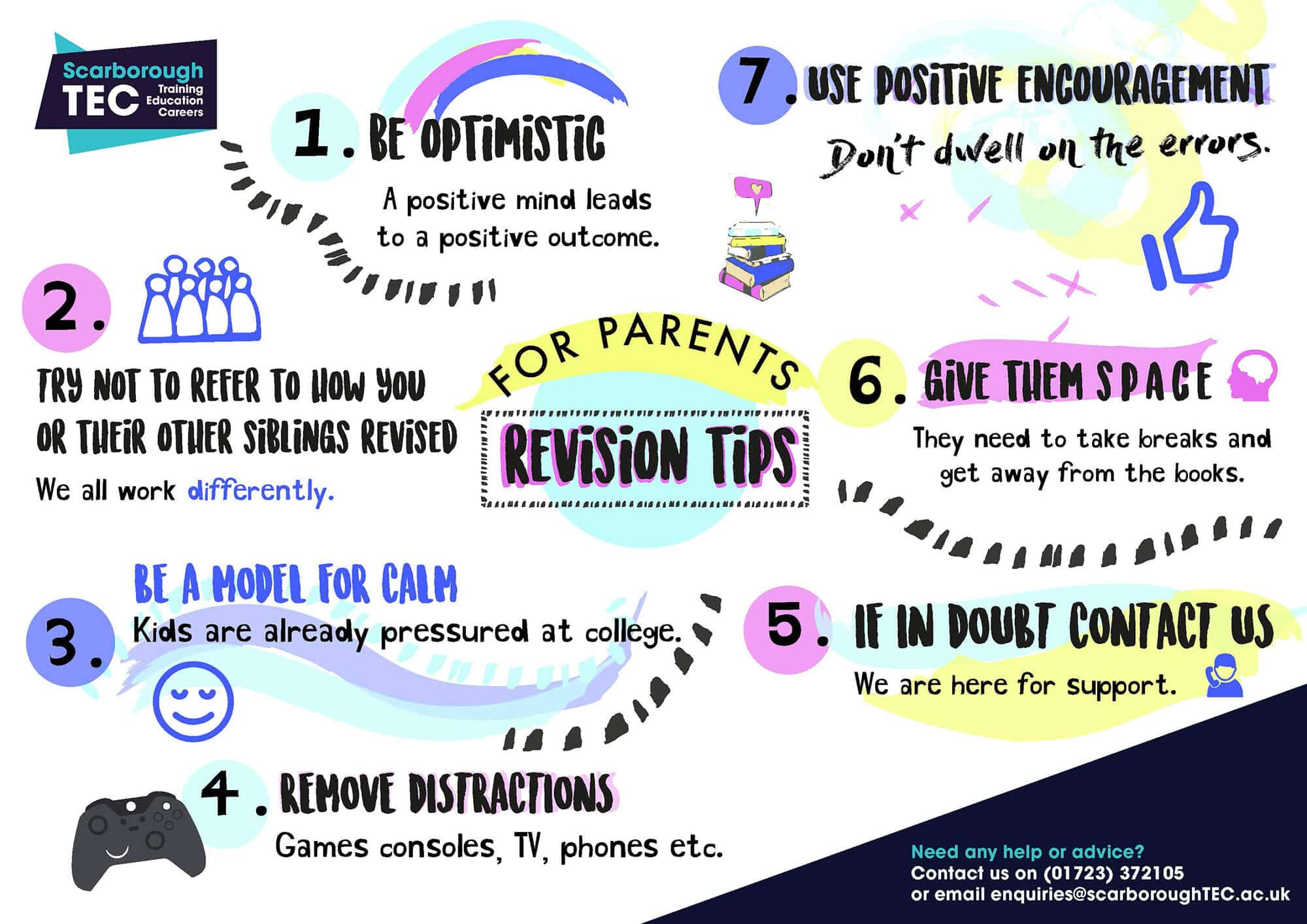 revision tips for parents
